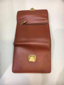皮革財布のキズ・修理・リメイク after